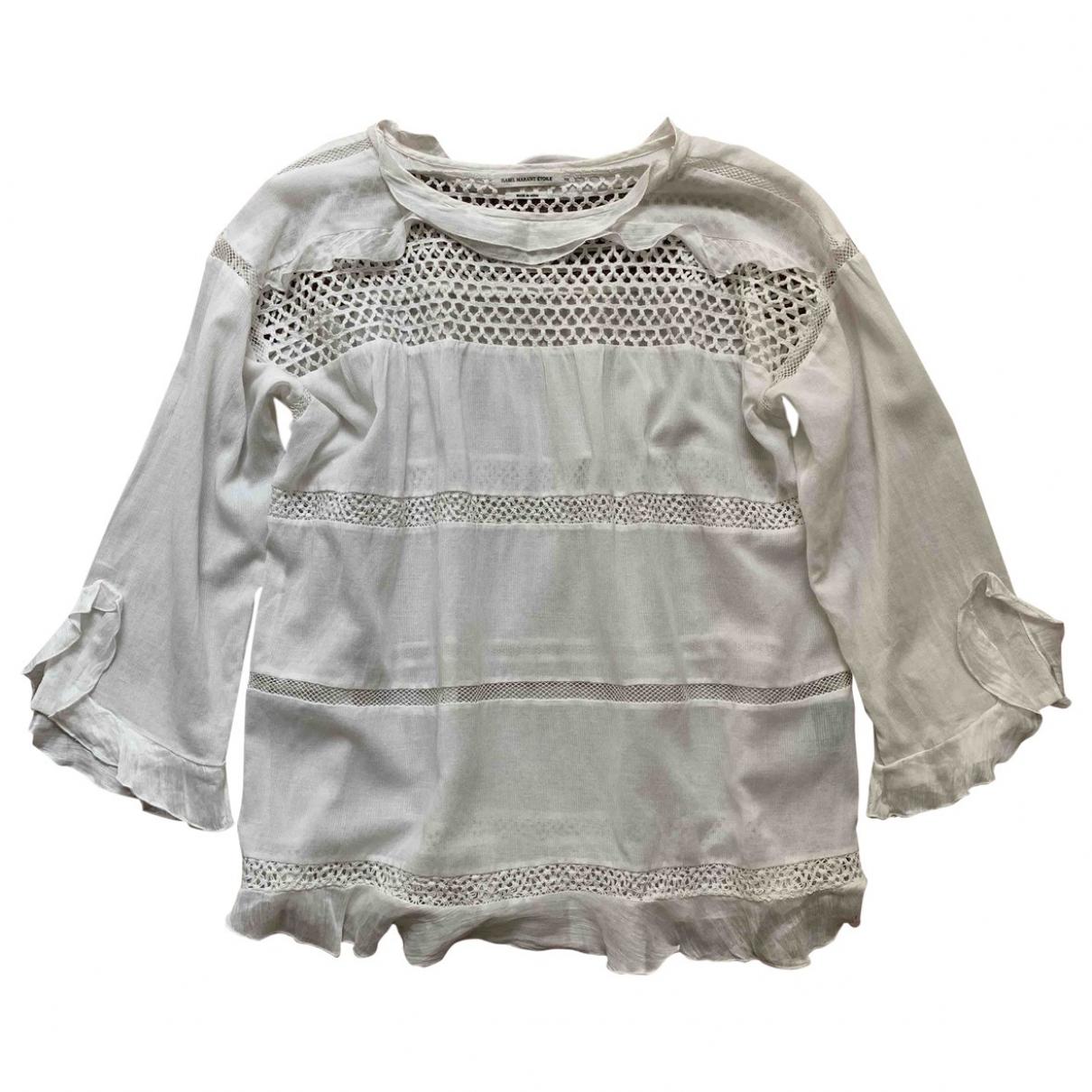 Isabel Marant Etoile \N White Cotton  top for Women 34 FR