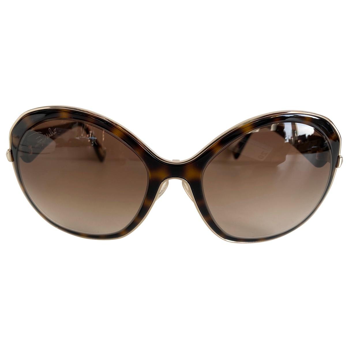 Emilio Pucci \N Brown Sunglasses for Women \N