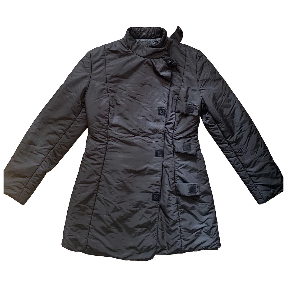 Fendi N Black coat for Women M International