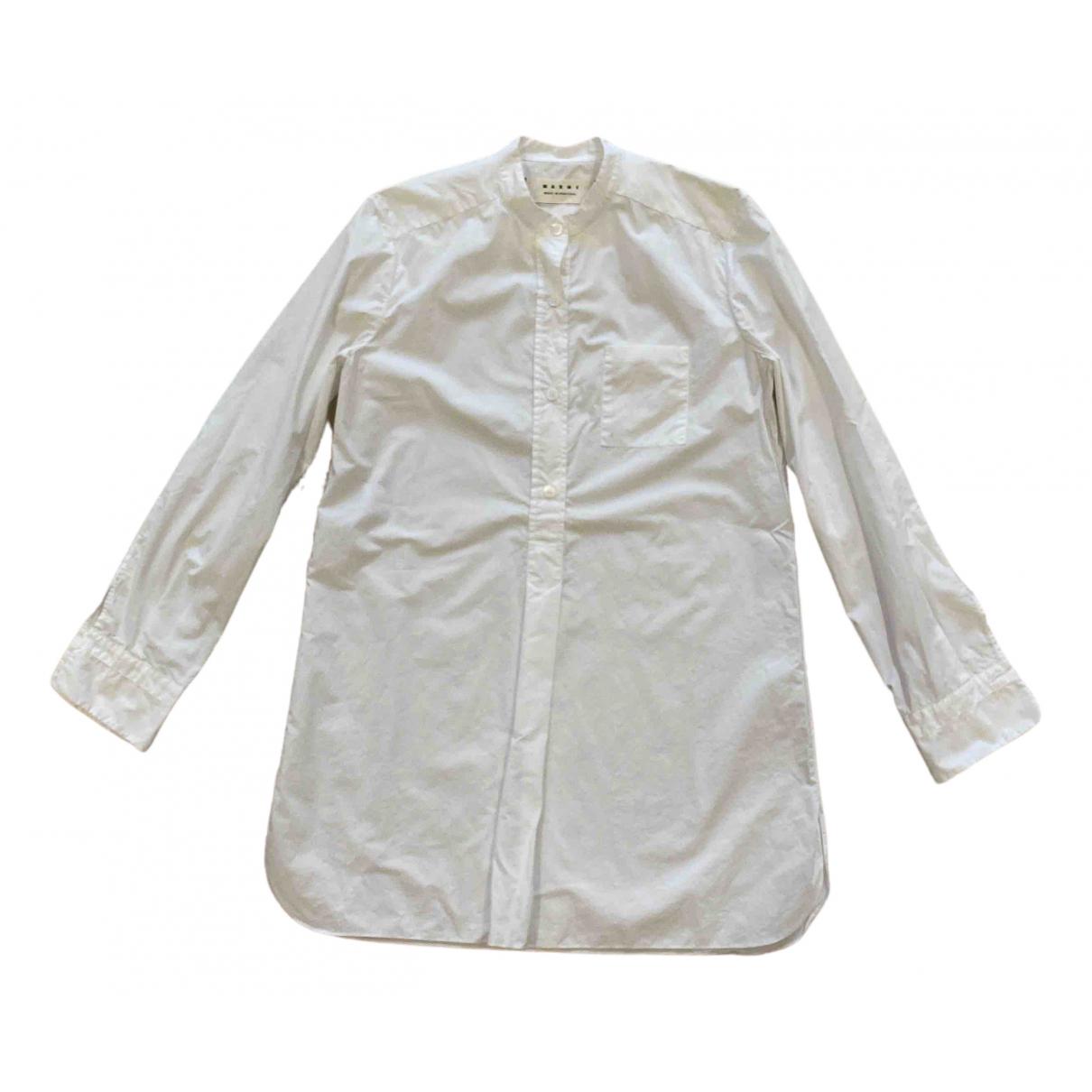 Marni \N White Cotton  top for Women 42 IT
