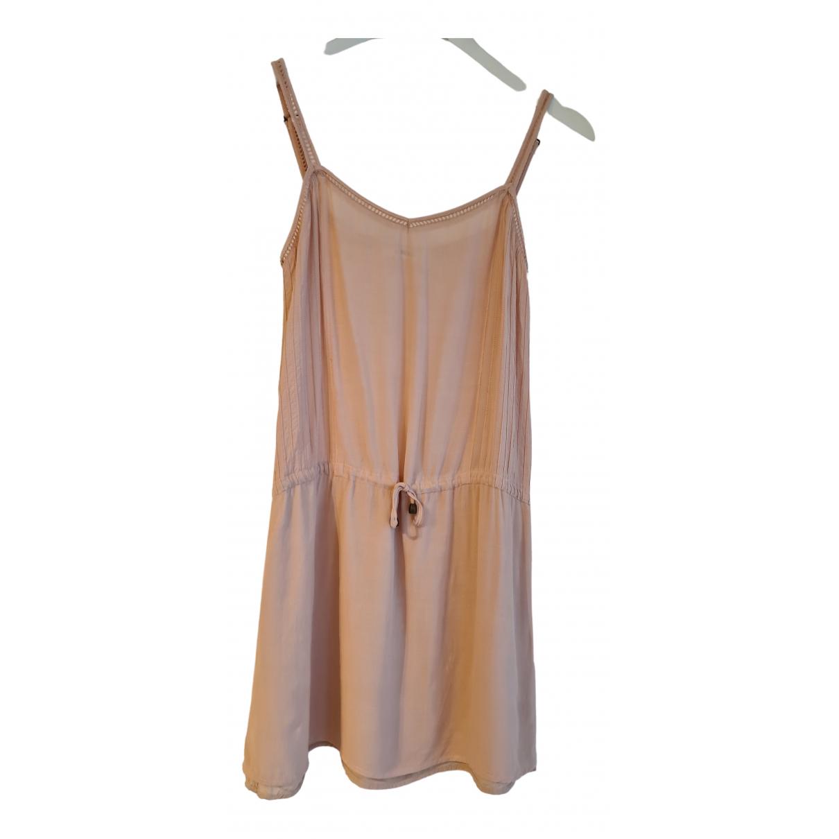 Anine Bing \N Kleid in  Rosa Viskose