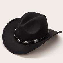 PU Band Cowboy Hat