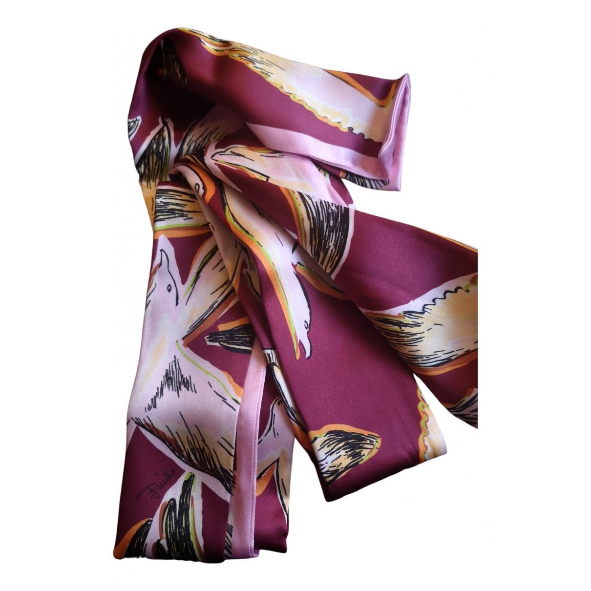 Emilio Pucci N Multicolour Silk scarf for Women N