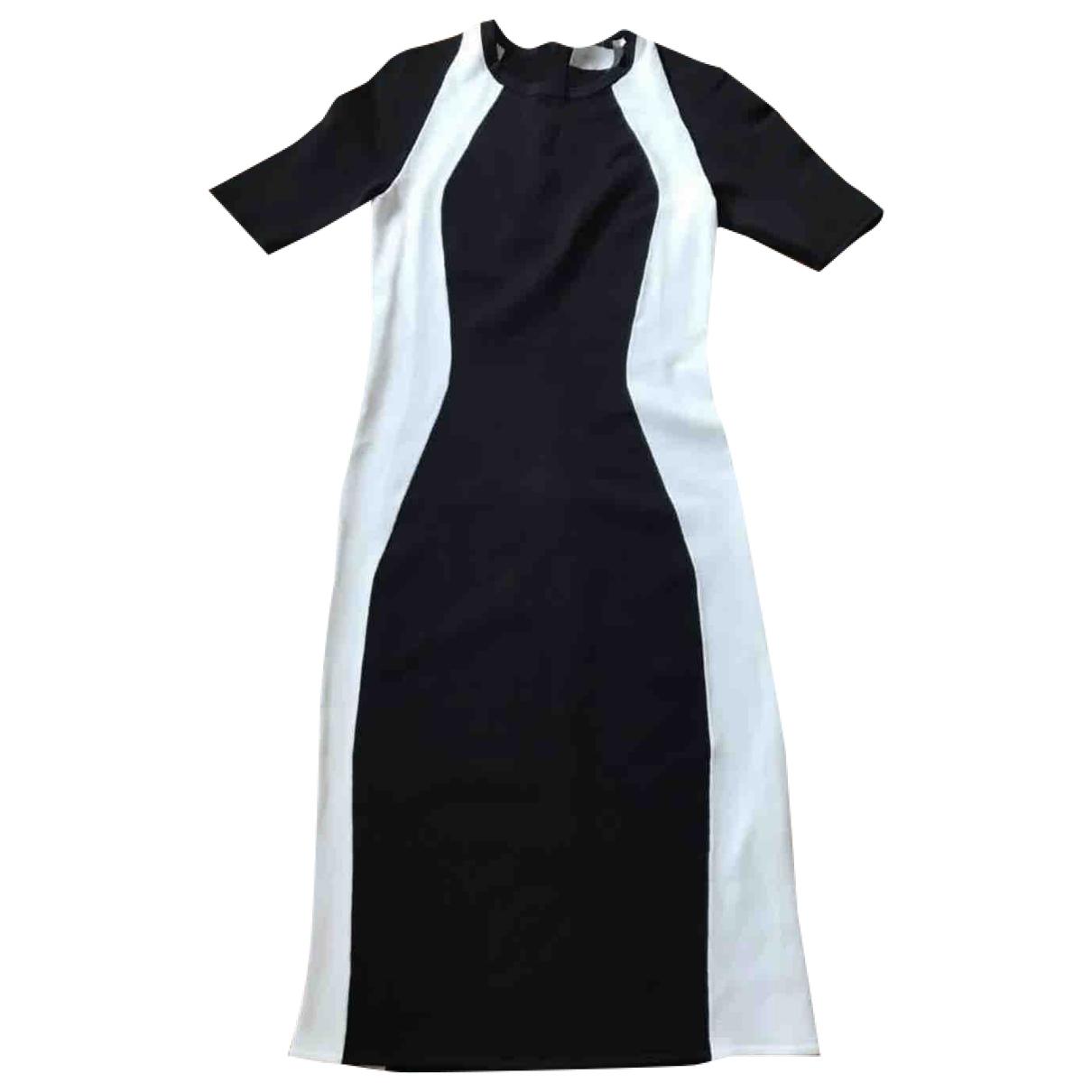 A.l.c \N Kleid in  Schwarz Synthetik