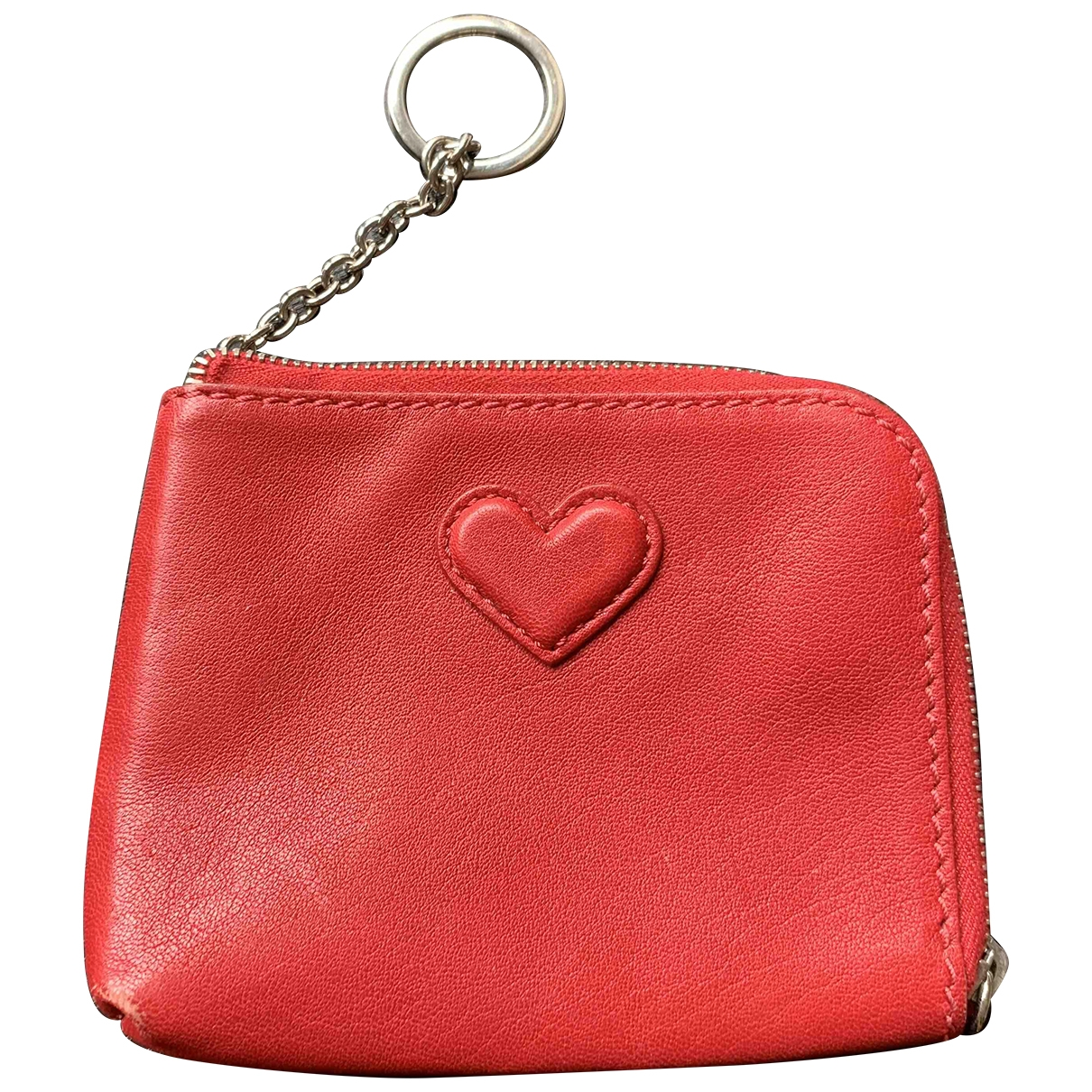 Hogan \N Red Leather Purses, wallet & cases for Women \N