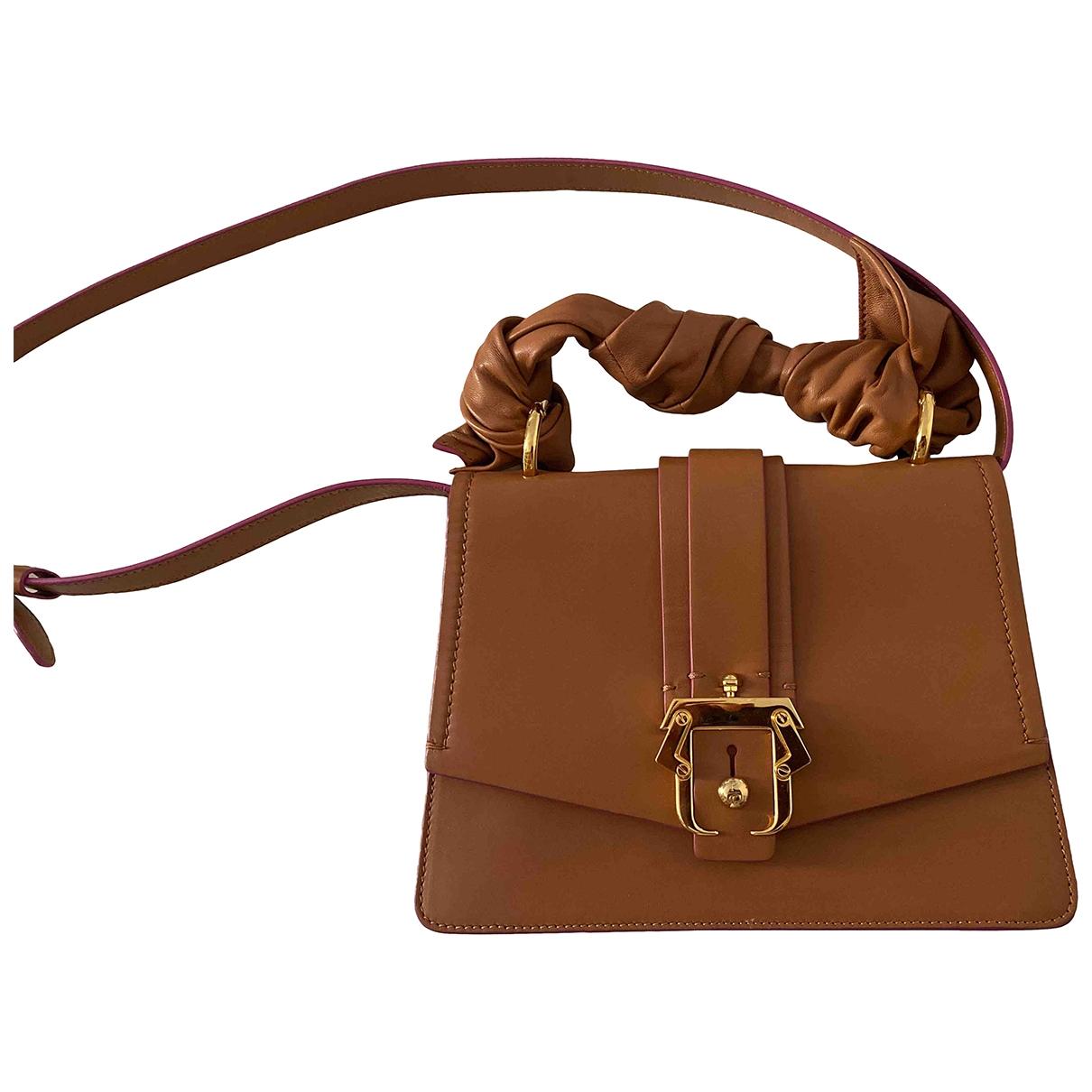 Paula Cademartori \N Camel Leather Clutch bag for Women \N