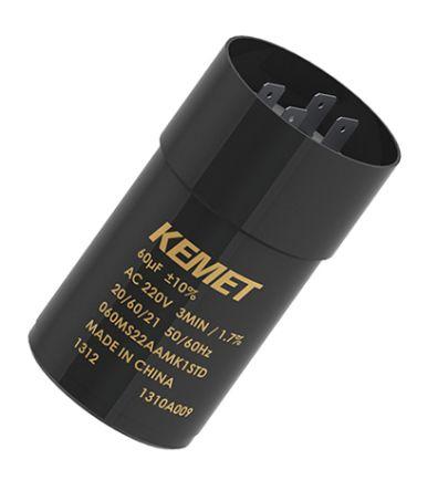 KEMET 60μF Electrolytic Capacitor 220V ac, Snap-In - 060MS22AAMA1STD