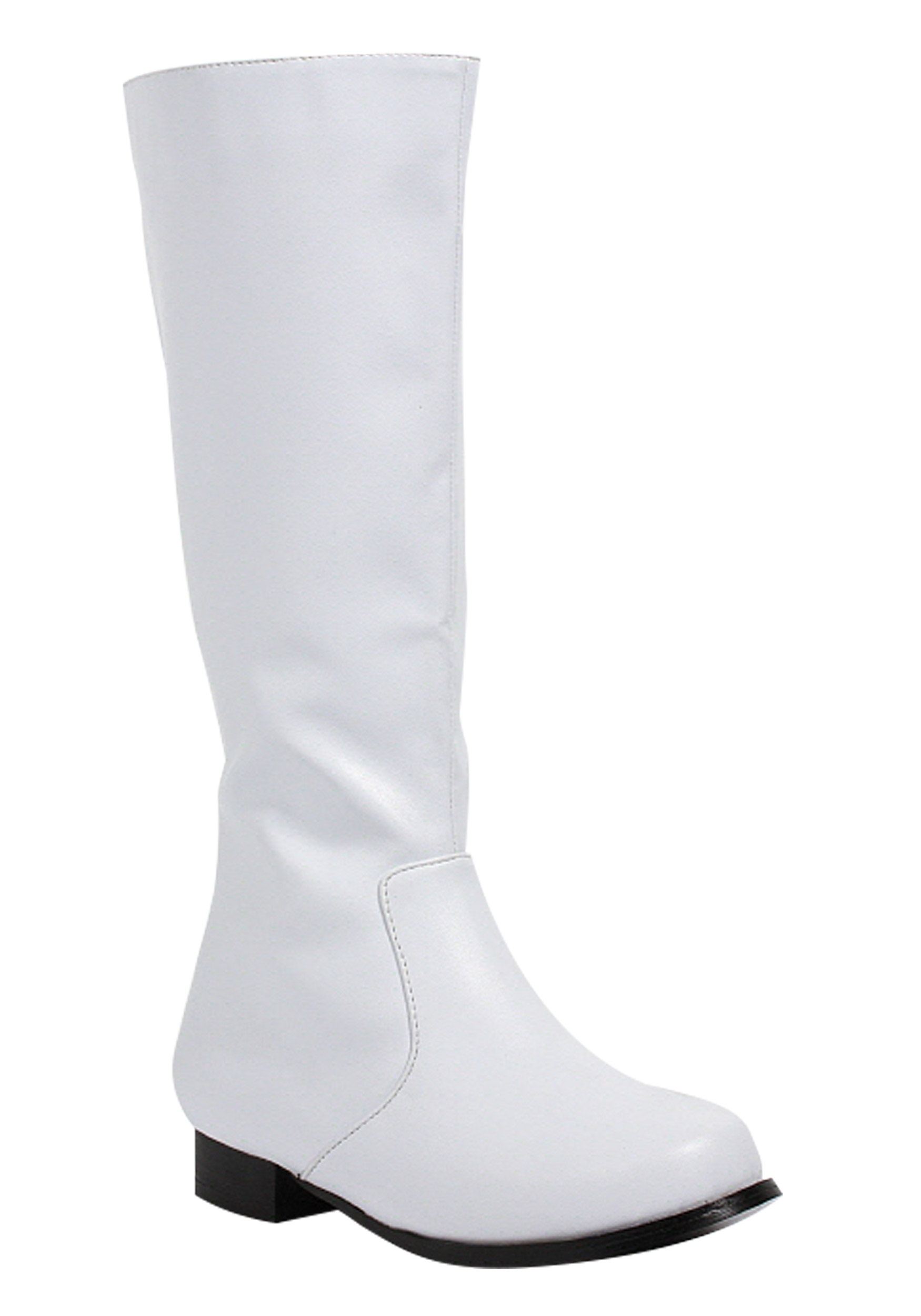 Boys Costume Boots in White