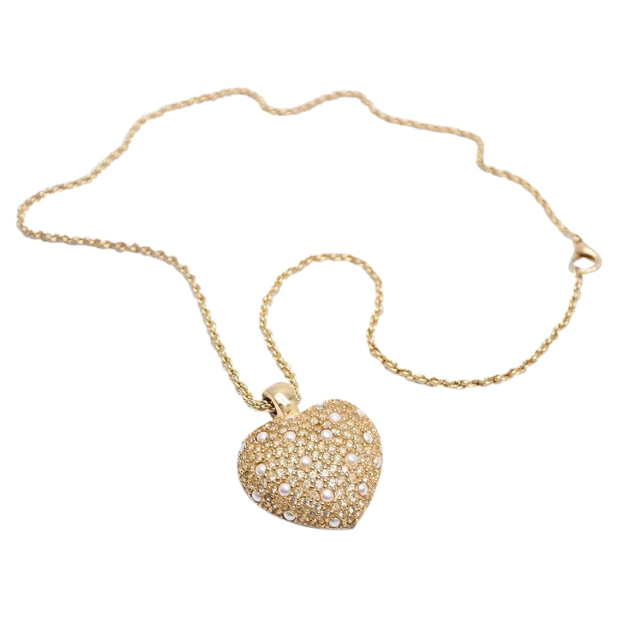 Dior \N Halskette in  Gold Metall