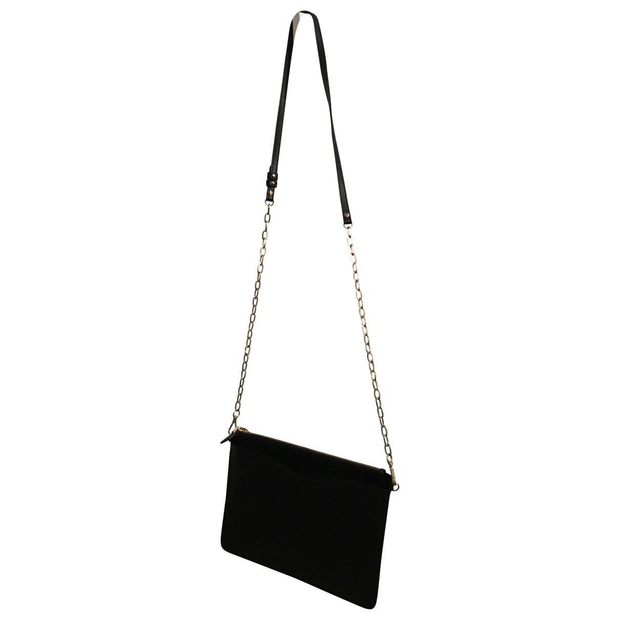 Lk Bennett \N Black Leather Clutch bag for Women \N