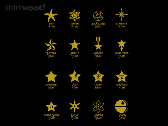 Stars T Shirt