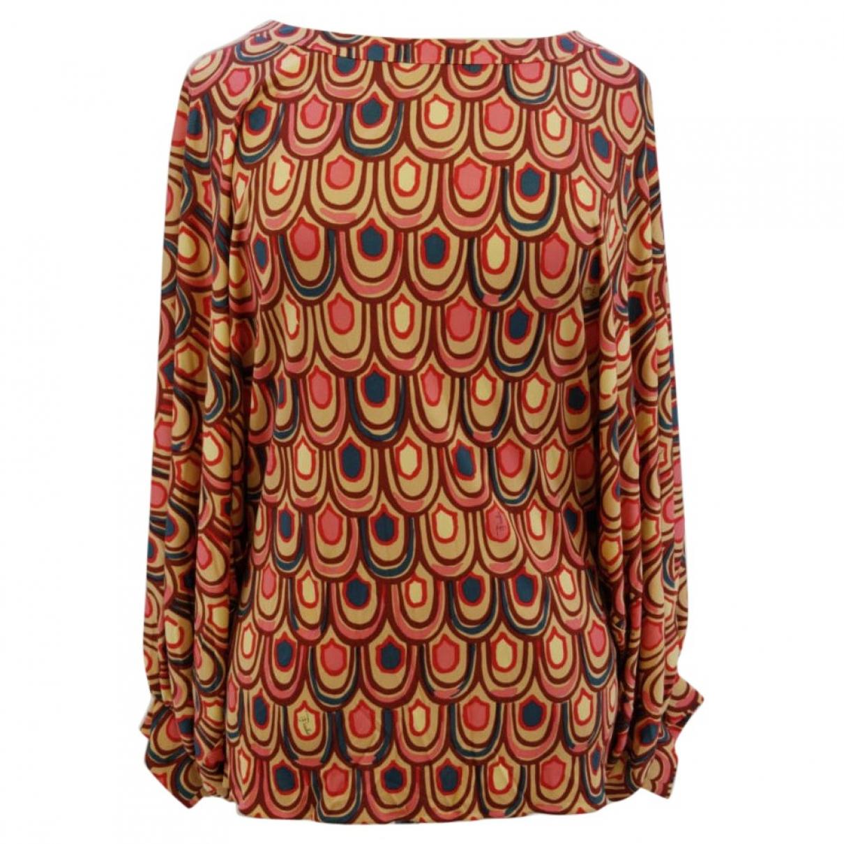 Emilio Pucci - Top   pour femme en soie - multicolore