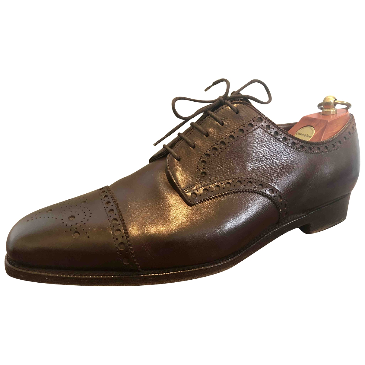 Edward Green - Derbies   pour homme en cuir - marron