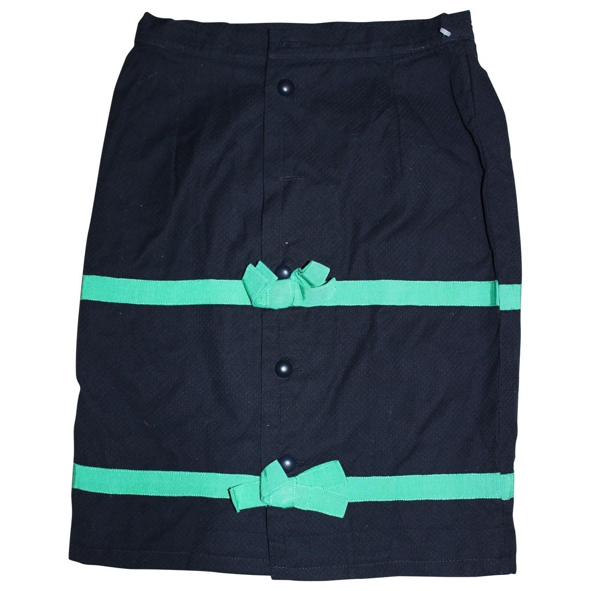 Balenciaga - Jupe   pour femme en coton - bleu