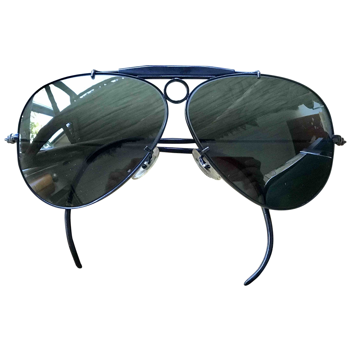 Ray-ban Aviator Black Metal Sunglasses for Men \N
