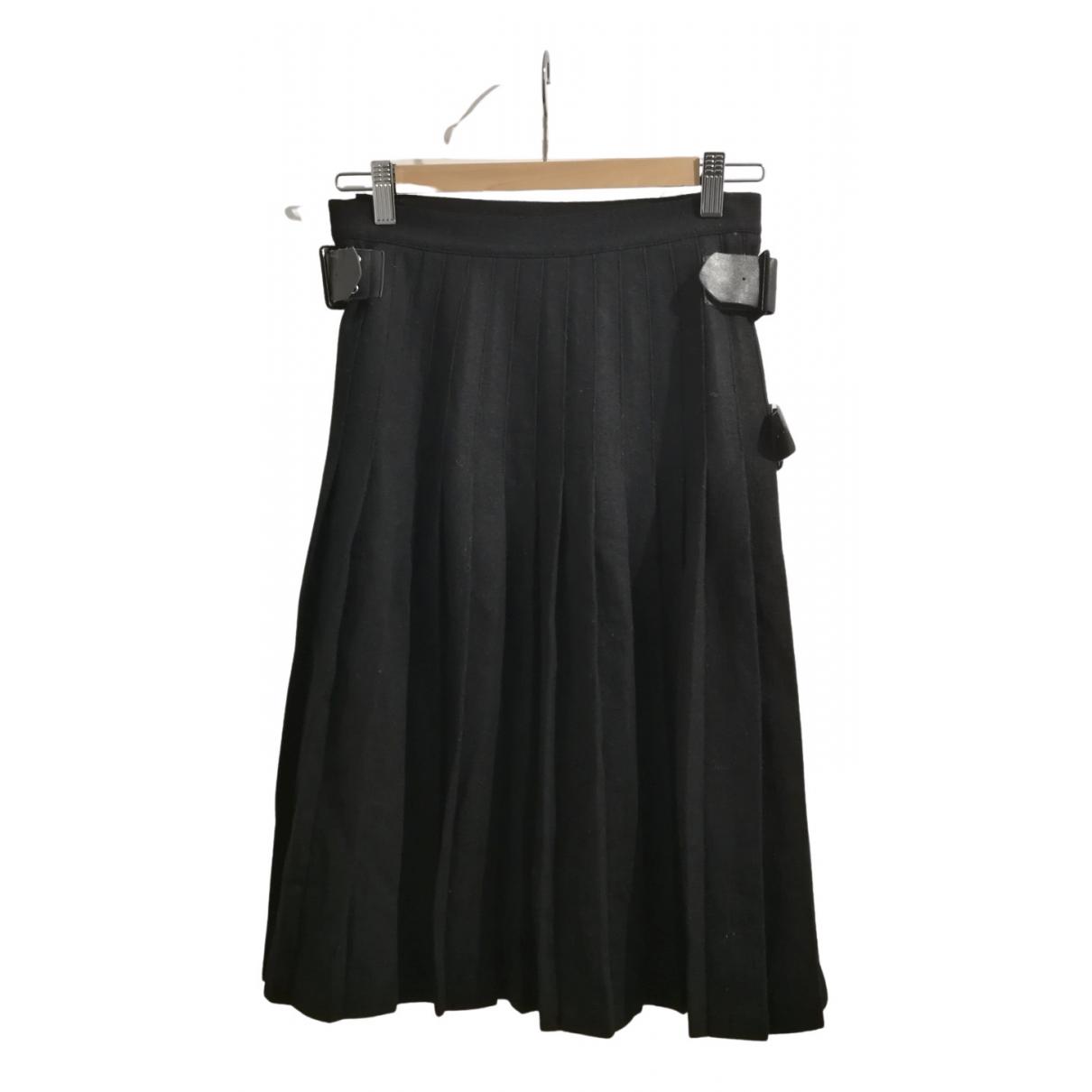 Manoush - Jupe   pour femme en laine - noir