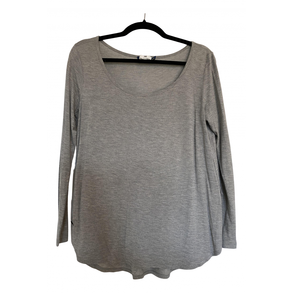 Polo Ralph Lauren - Top   pour femme - gris