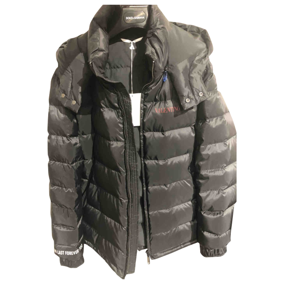 Valentino Garavani \N Black coat  for Men 50 IT