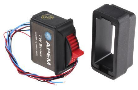 Apem IP67 Pre-wired Thumbwheel Switch Thumbwheel