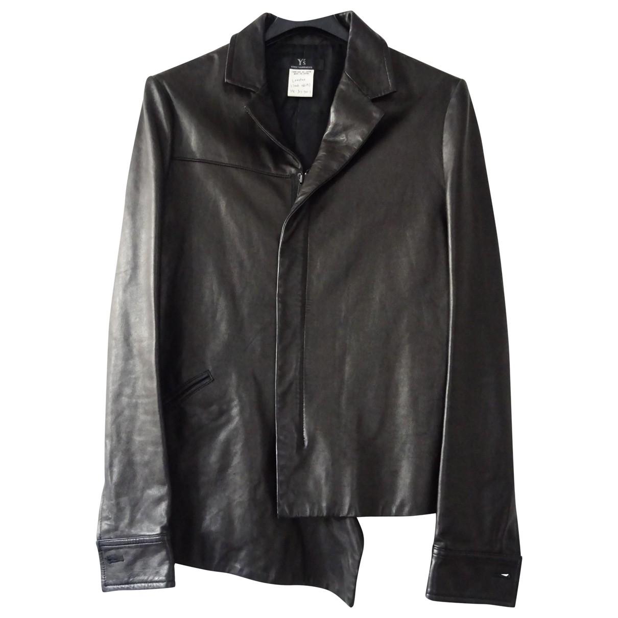 Yohji Yamamoto - Veste   pour femme en cuir
