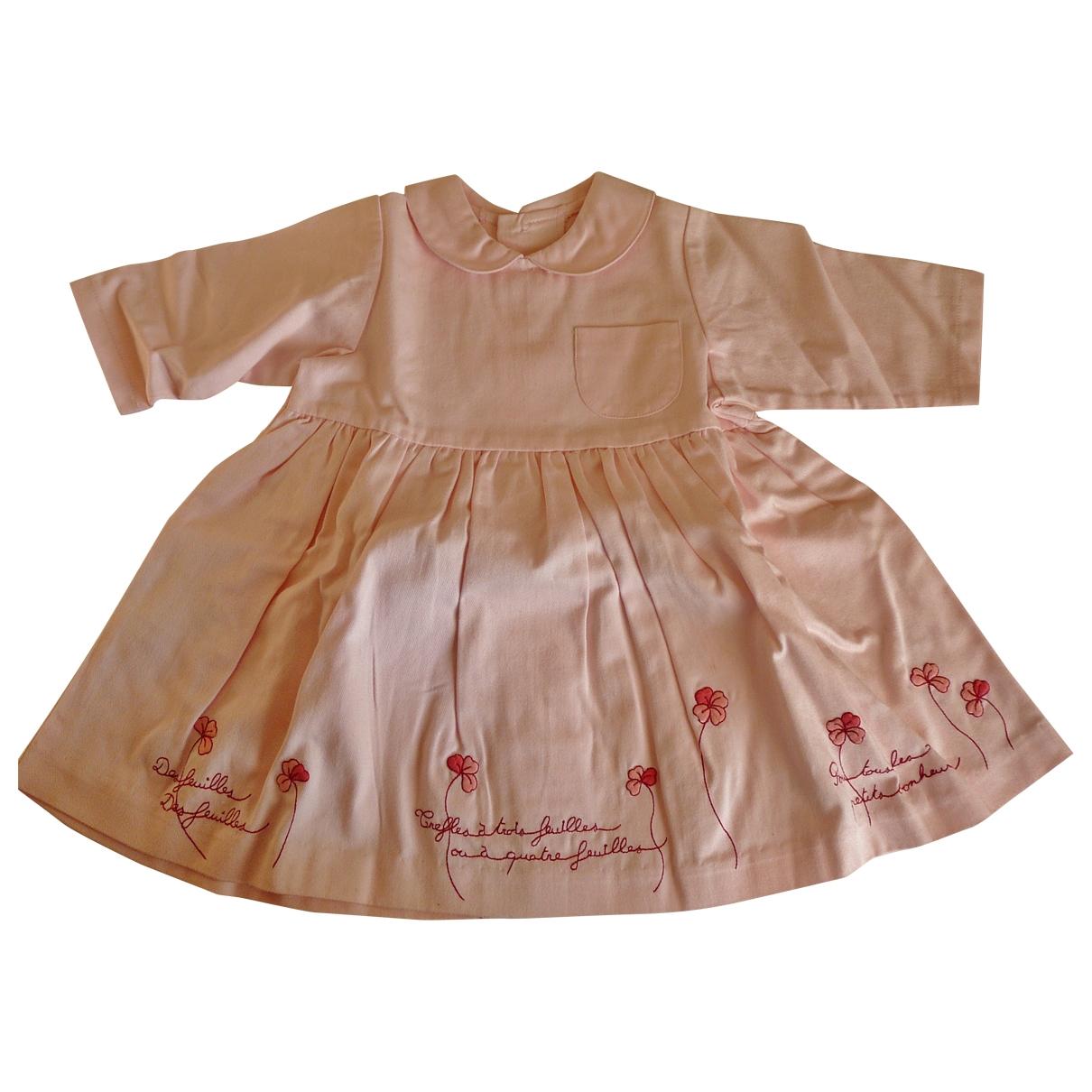 Petit Bateau \N Kleid in  Rosa Baumwolle