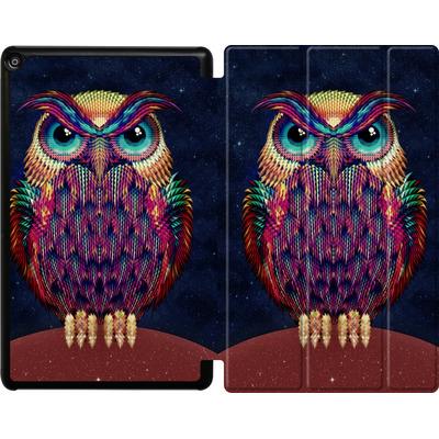 Amazon Fire HD 10 (2018) Tablet Smart Case - Owl von Ali Gulec