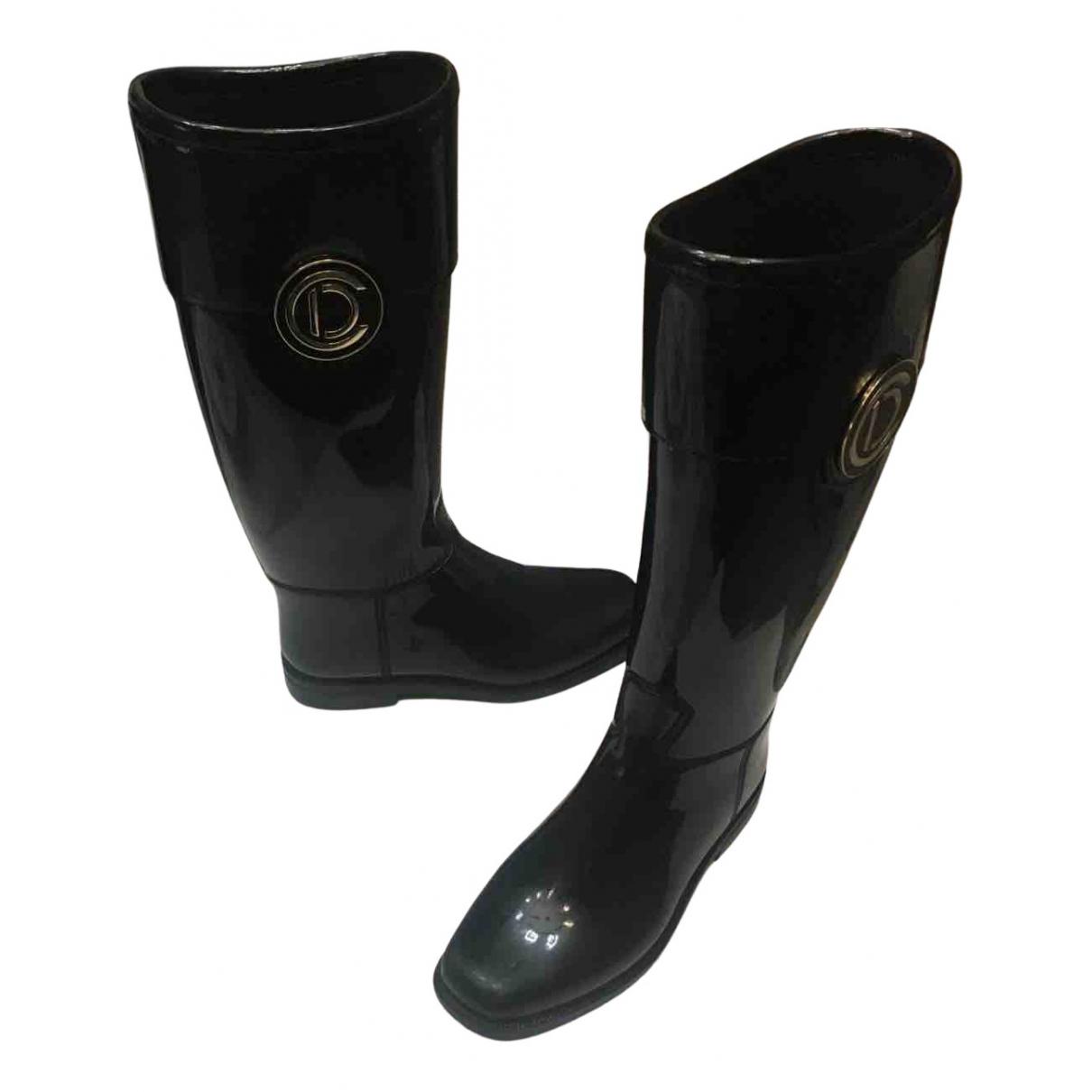Dior - Bottes   pour femme en caoutchouc - noir