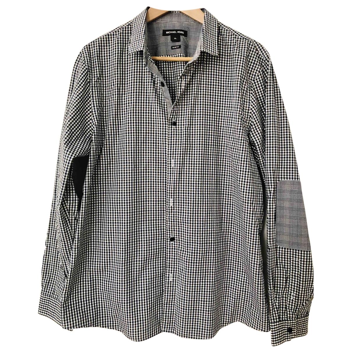 Michael Kors - Chemises   pour homme en coton - noir