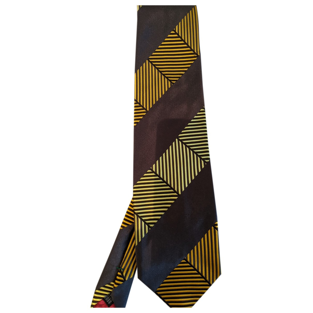 Paul Smith - Cravates   pour homme en soie - anthracite