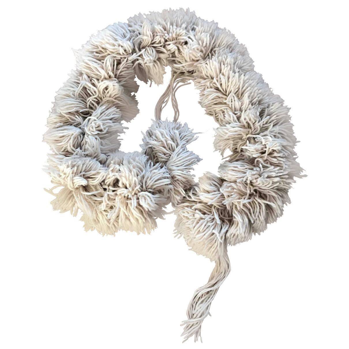 Armani Jeans \N Schal in  Beige Wolle