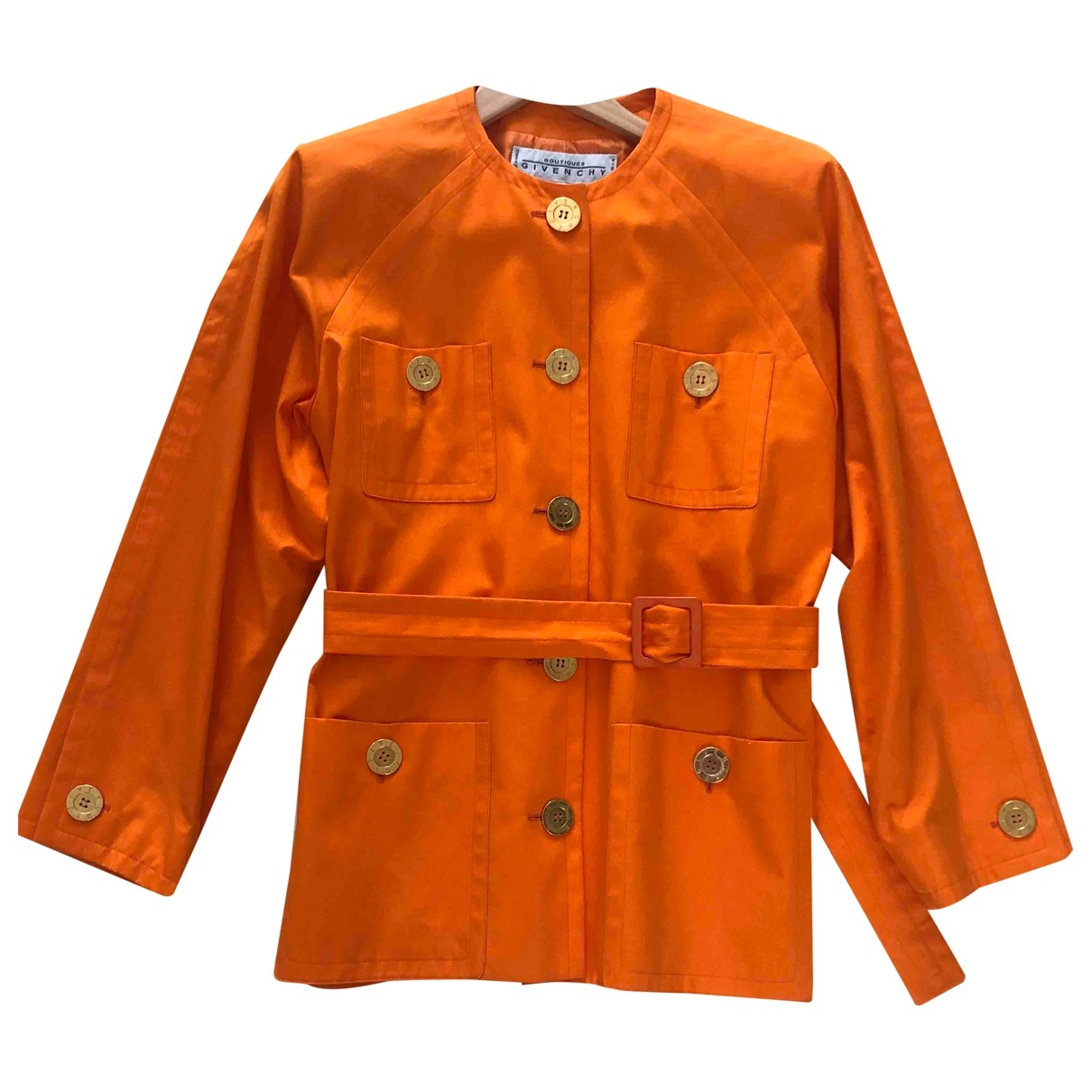 Givenchy \N Jacke in  Orange Baumwolle