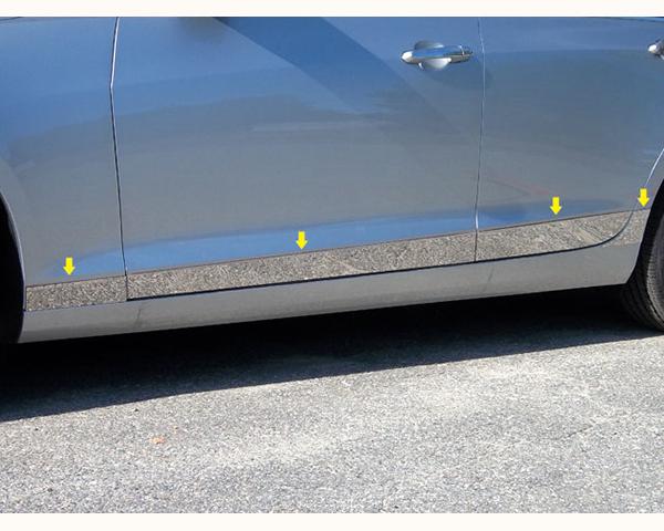 Quality Automotive Accessories 8-Piece Rocker Panel Accent Trim Kit Cadillac ATS 2014