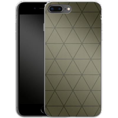 Apple iPhone 8 Plus Silikon Handyhuelle - Moss von caseable Designs