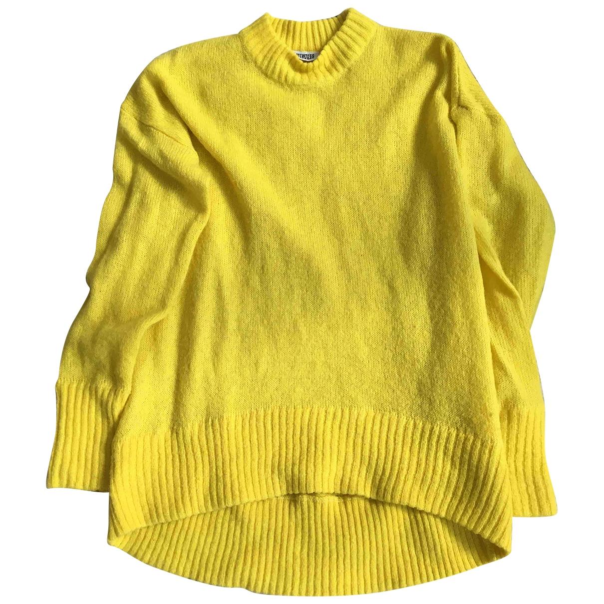 - Pull   pour femme - jaune