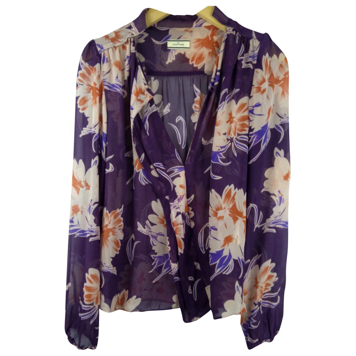 By Malene Birger - Top   pour femme en soie - violet