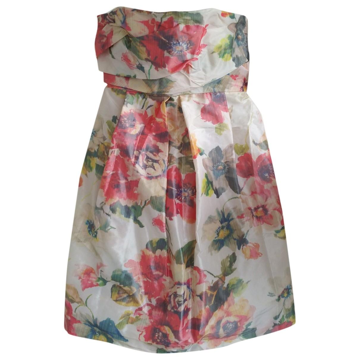 The Kooples Spring Summer 2019 Kleid in  Bunt Polyester