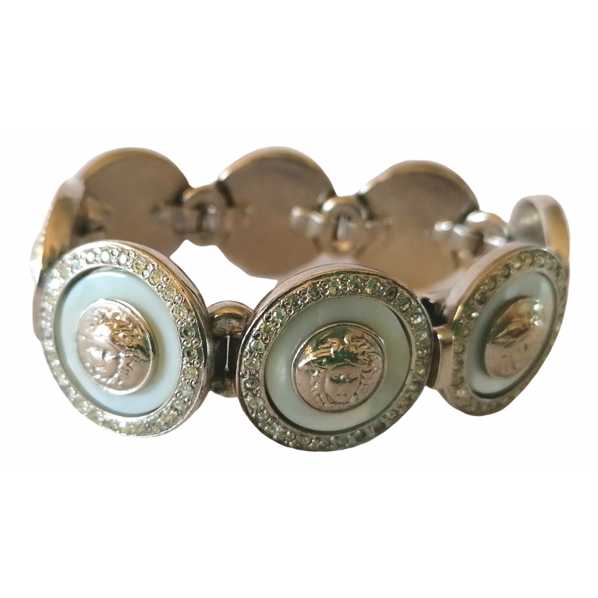 Versace Medusa Armband in  Silber Metall