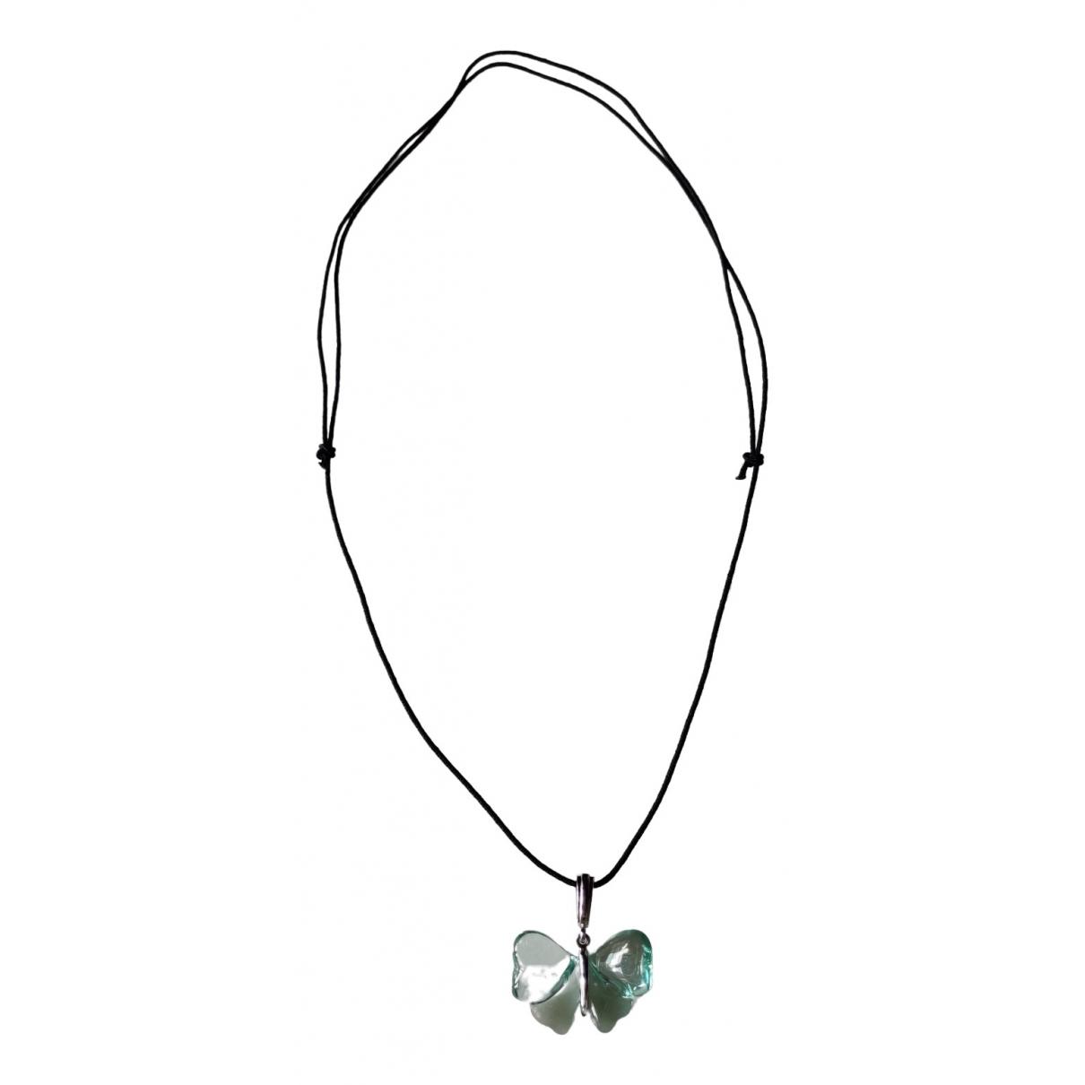 Lalique \N Kette in  Blau Kristall