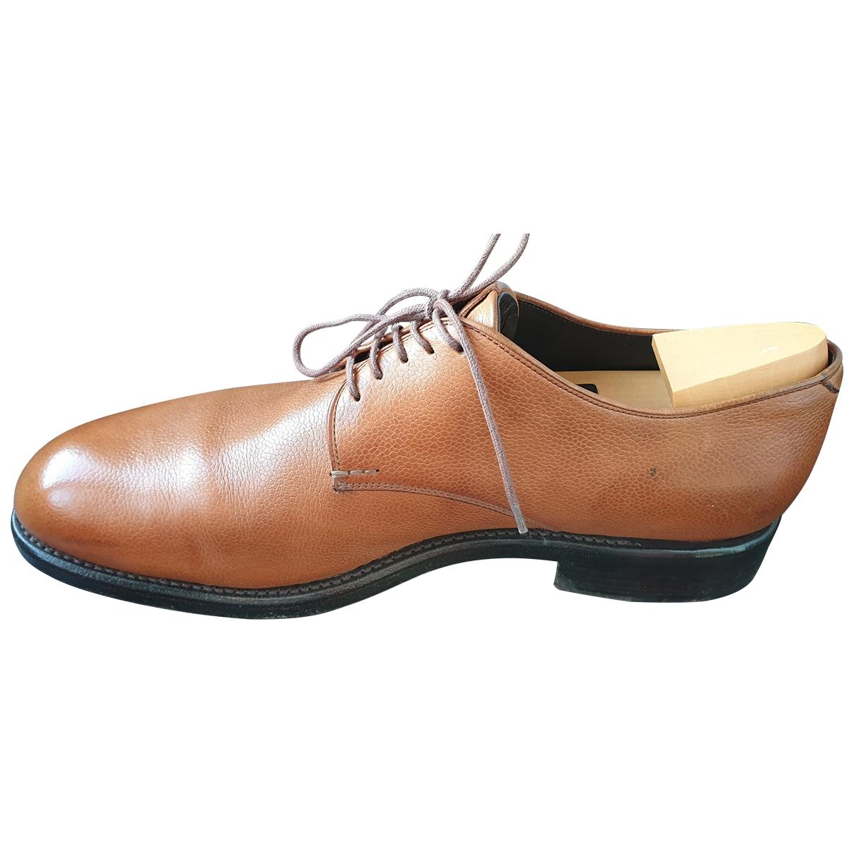 Heschung - Derbies   pour homme en cuir - marron