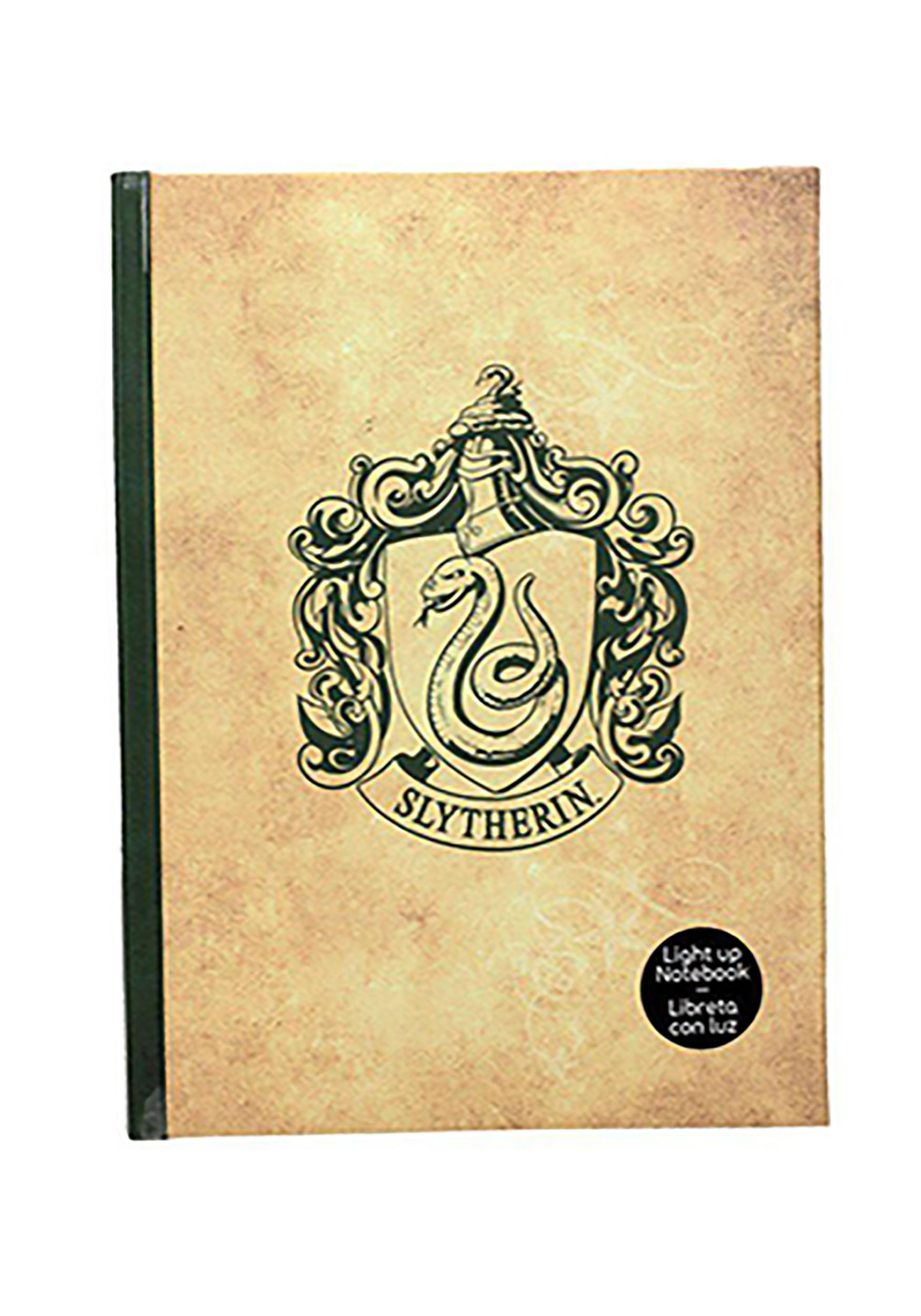 Slytherin Harry Potter -  Light-Up Journal