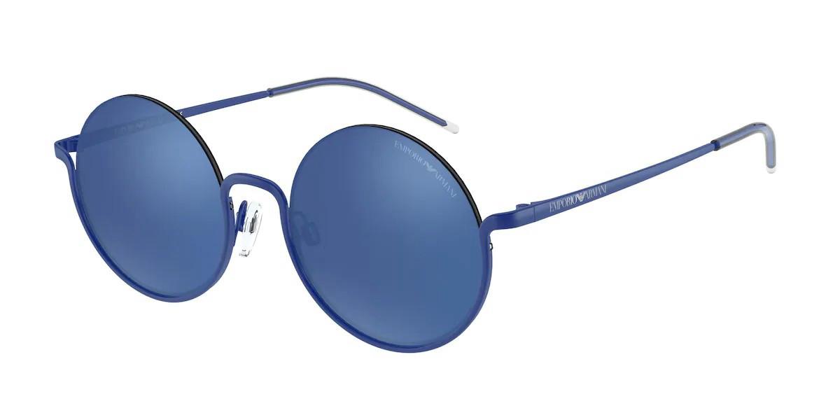 Emporio Armani EA2112 609755 Women's Sunglasses Blue Size 50