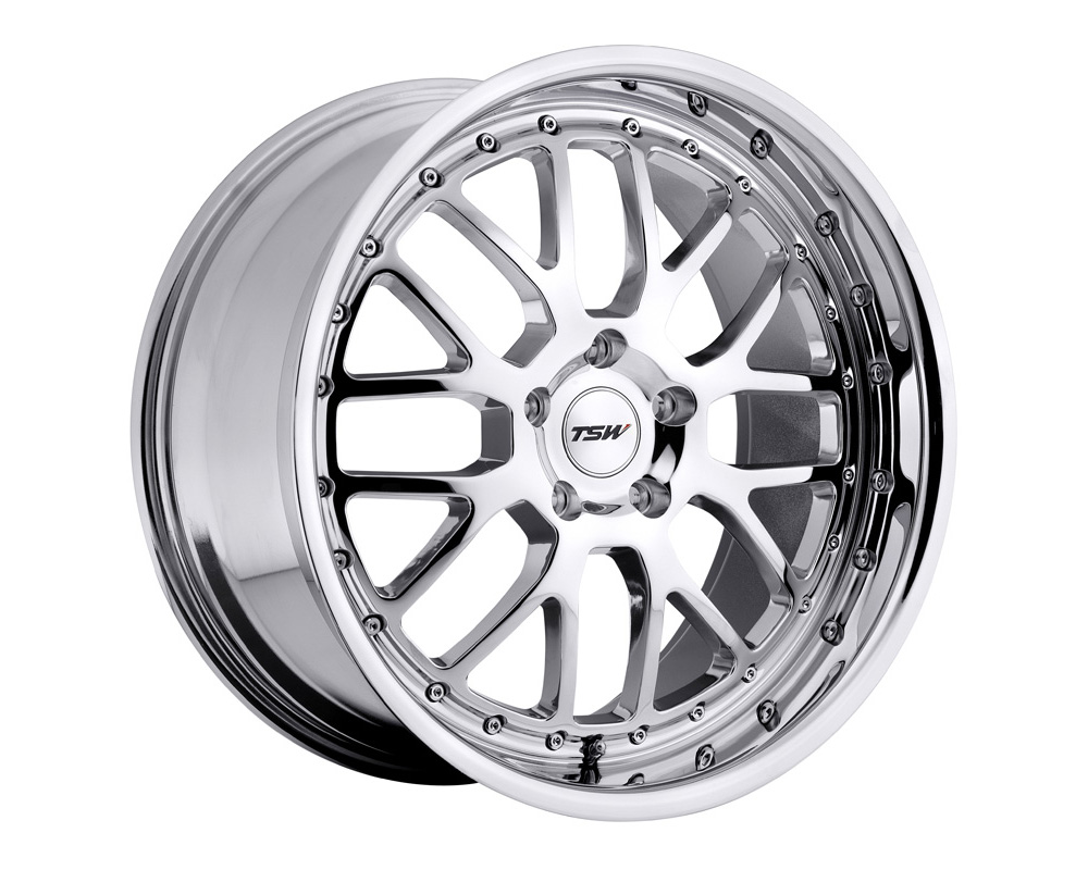 TSW Valencia Wheel 18x8 5x112 32mm Chrome
