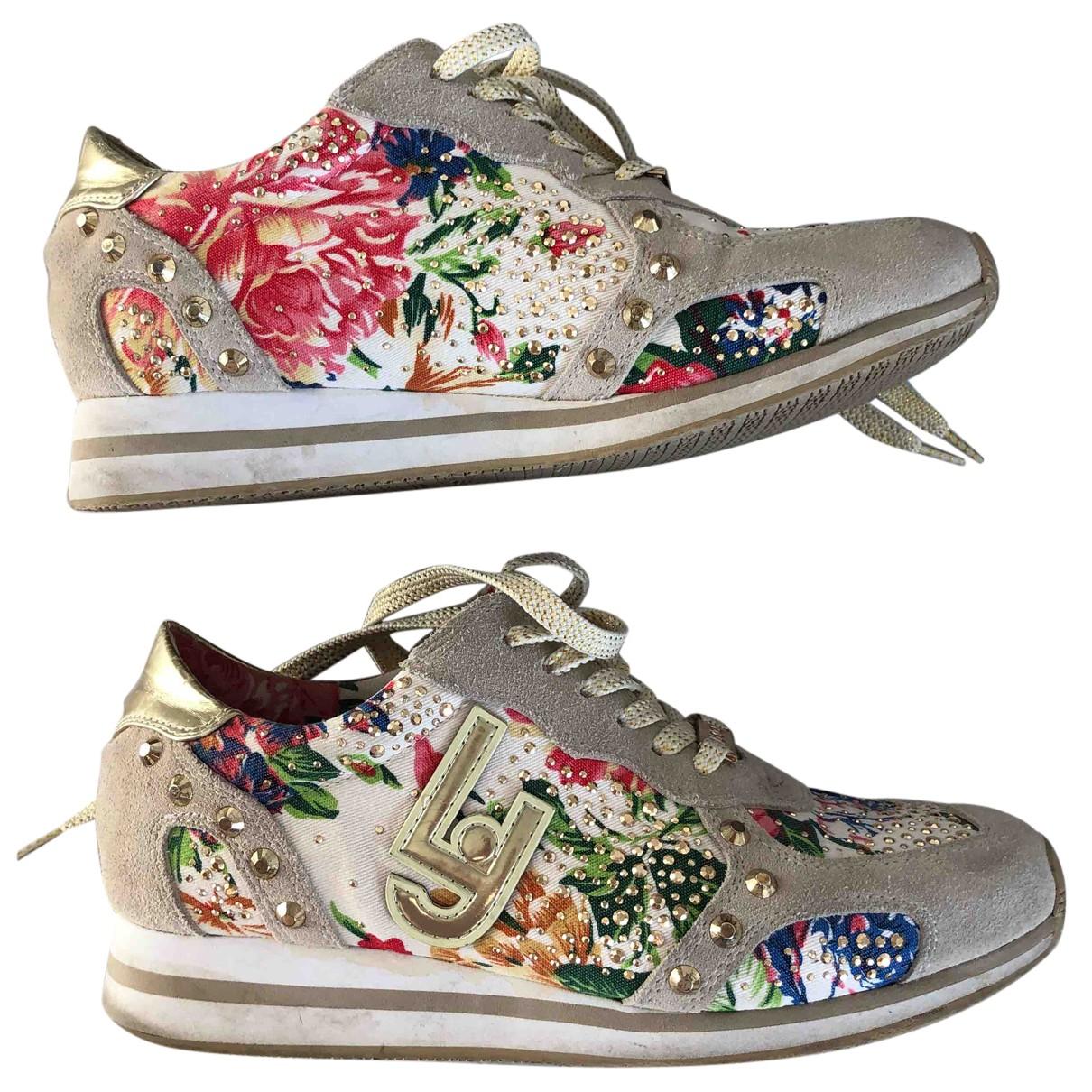 Liu.jo \N Sneakers in  Beige Leinen
