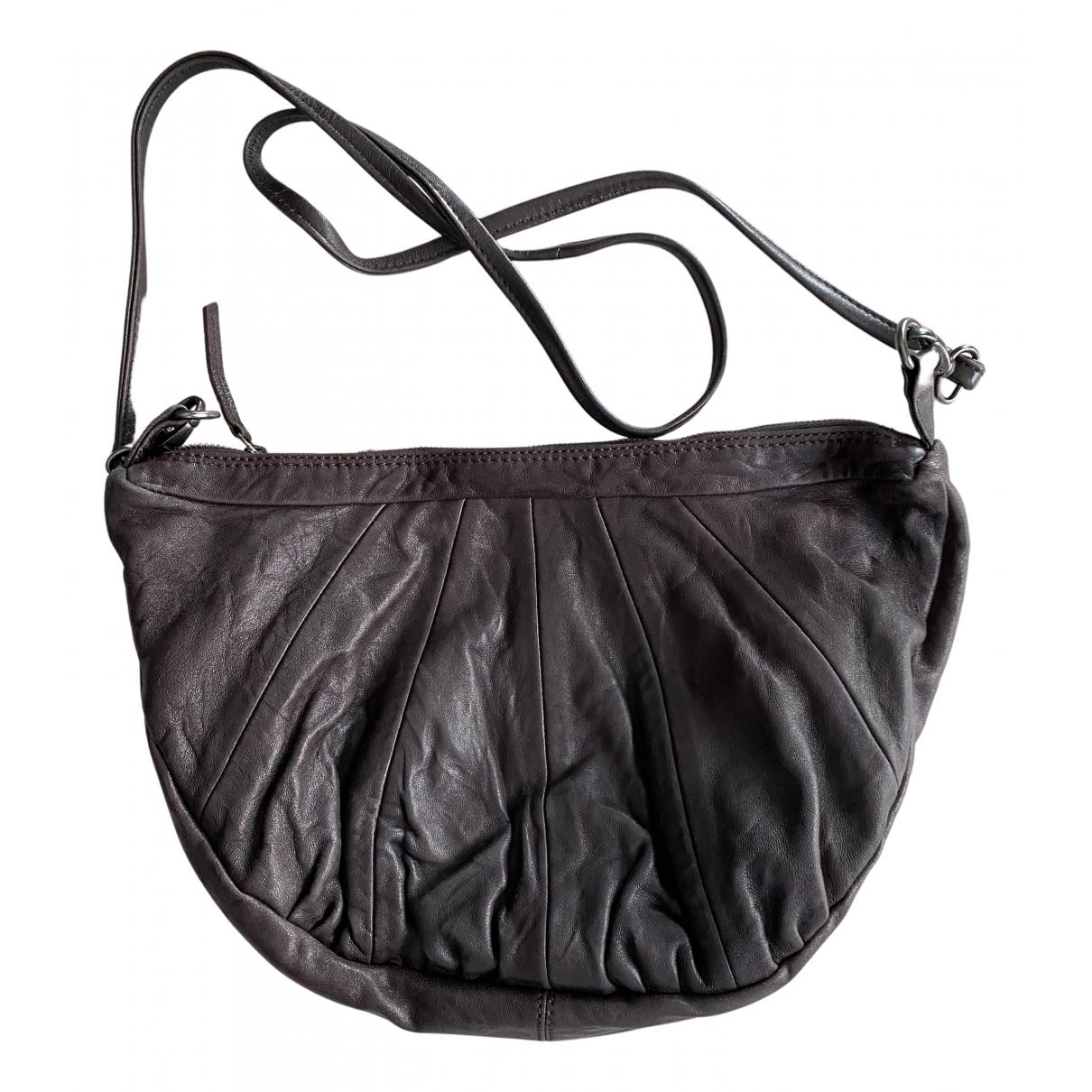 Comptoir Des Cotonniers \N Handtasche in  Braun Fell