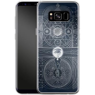 Samsung Galaxy S8 Silikon Handyhuelle - Eternal Universe von Daniel Martin Diaz