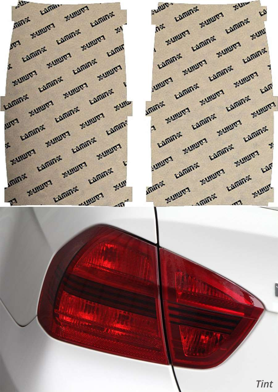 GMC Yukon 07-14 Tint Tail Light Covers Lamin-X G209T