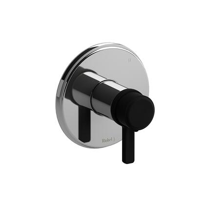 Momenti MMRD47JCBK-SPEX 3-Way No Share Thermostatic/Pressure Balance Coaxial Complete Valve Pex with J Lever Handles  in