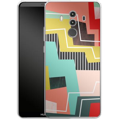 Huawei Mate 10 Pro Silikon Handyhuelle - Color Block I von Susana Paz