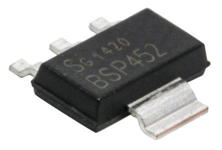 Infineon BSP452HUMA1 Intelligent Power Switch 3+Tab-Pin, SOT-223 (5)
