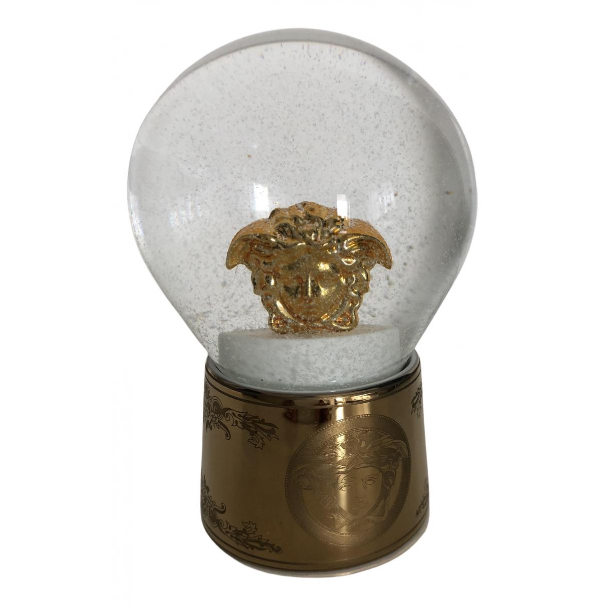 Versace - Objets & Deco   pour lifestyle en cristal - dore